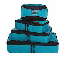 Pro packing cubes travel packing organizers compression pouches