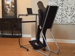 Standing Reading Desk Leanchair Is The Standing Desk That Lets You Kick Back