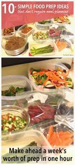 food prep meals 10 simple food prep ideas the realistic mama