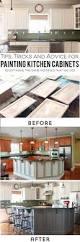 Painted Kitchen Cabinet Ideas Best 25 Wallpaper Cabinets Ideas On Pinterest Open Cabinets