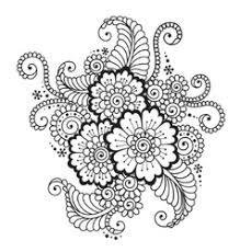 flower ornament royalty free vector image vectorstock