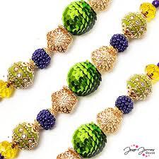 mardi gras beeds mardi gras bead strand 1