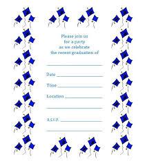 free printable kindergarten graduation invitation