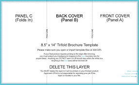 tri fold brochure template free download 8 5x14 trifold brochure template apa templates