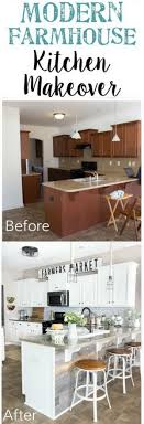 kitchen makeover with cabinets 35 awesome diy kitchen makeover ideas for creative juice