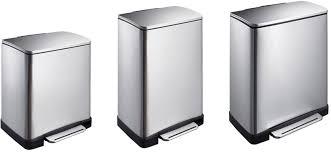 poubelles de cuisine corbeille poubelle de cuisine rectangulaire à pédale 3222 1er