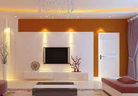 tv on the wall decorating ideas in the modern living room design