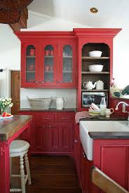 red kitchen furniture 337 best kt painted finish images on pinterest kitchen design