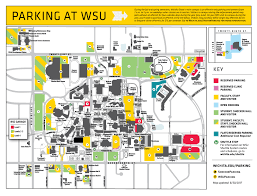 Ohio University Map by Maps And Directions Wichita State University Wichita Kansas