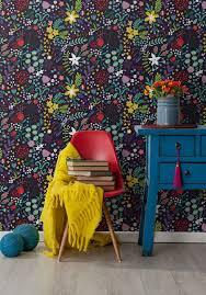 modern floral wallpaper vibrant modern floral wallpaper milton u0026 king