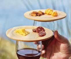 wine glass appetizer plates gadget flow