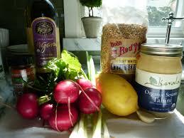 Summer Entertaining Menu Wheat Berry Salad With Lemon Tahini Dressing Recipe Pamela