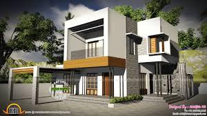 3 Bedroom Contemporary Design 3 Bedroom Contemporary Home By Abhijith Ms Kerala Home Design