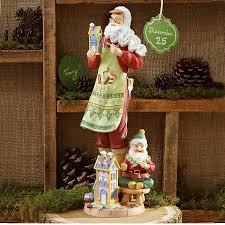170 best holidays christmas santa figurines images on pinterest