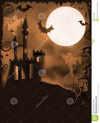 spooky halloween backgrounds spooky halloween castle vector background royalty free stock