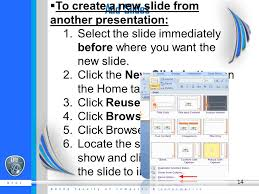 learning microsoft power point getting started there are three