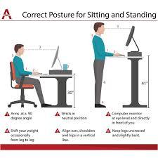 Computer Desk Posture Charlton Home Myles Lift Top Standing Desk Reviews Wayfair