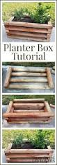 diy planter box tutorial perfect for growing berries and other