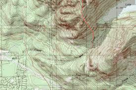 What Is A Topographic Map Zekes Peak Topographic Map Photos Diagrams U0026 Topos Summitpost