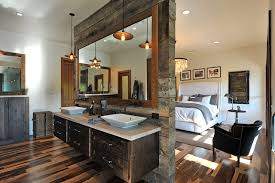 Houzz Rustic Bathrooms - woodland cabinetry houzz