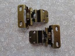6 pair 12 hinges partial wrap self closing cabinet hinge 3 8