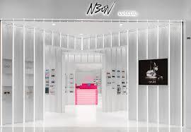 Concept Interior Design 55 Sqm Eyewear Store Interior Design Idea With Ocular Perception