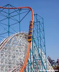 Six Flags Magic Mountain Six Flags Magic Mountain Goliath Goliath 2nddrop Jpg Roller