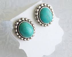 turquoise earrings best silver turquoise earrings photos 2017 blue maize