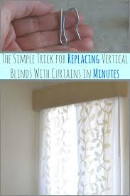 Curtains For Vertical Blind Track Brilliant Curtains For Vertical Blind Track Decor With Curtains