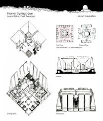 hurva synagogue louis kahn architectural study by sgarcia88 on