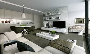 modern interiors attractive small apartment modern interior design a sofa