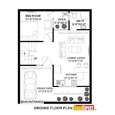 house plan for 25feet by 32 feet plot plot size 89 square yards
