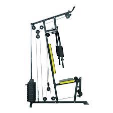 aosom soozier 100 lb stack home gym equipment machine free