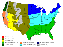 us climate map climate zones of the us thinglink