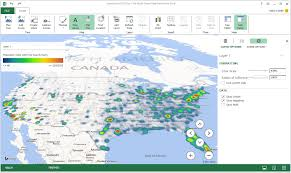 Radius On Map Excel Power Map How To Use Mappoint And Maptitude