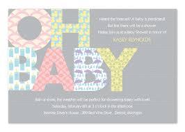 baby shower brunch invitation wording modern baby shower invitations by invitationconsultants