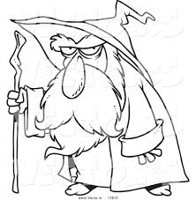 wizard coloring pages printable with at glum me