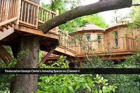 three house the treehouse at harptree court canopy