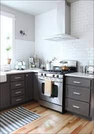 kitchen light grey backsplash rustic kitchen cabinet gray