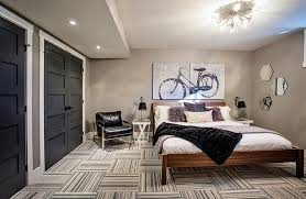 luxurius finished basement bedroom ideas with interior home paint
