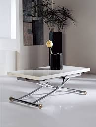 Wohnzimmertisch Und Esstisch In Einem Multifunktionstisch Couchtisch Tisch Olimp Weiß Höhenverstellbar