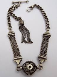 silver watch chain necklace images 164 best jewelry watch fobs and chains images jpg