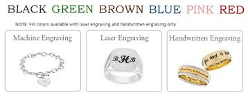 custom jewelry engraving jewelry engraving by machine laser inscrived and written