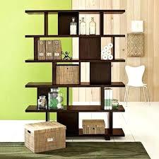 Unique Room Divider Ideas Bookcase Open Shelves Room Divider Open Bookcase Room Divider
