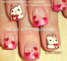 cute easy valentine nail designs