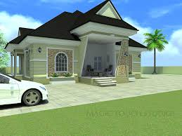 4 bedroom bungalow architectural design homepeek