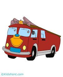fire engine coloring pages kids color print