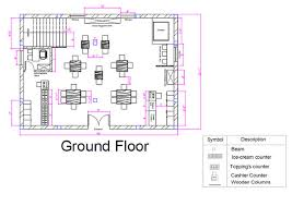 Bakery Floor Plan Design Restaurant Design Megha Gupta