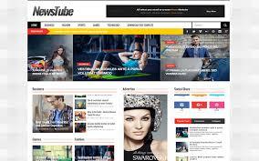 flexible magazine professional blogger template
