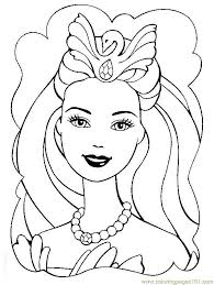barbie coloring free barbie coloring pages